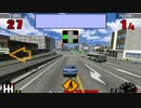 Thrill Drive [スリルドライブ] (1998) - Sample Playthrough (Ford Mustang - Japan Course)