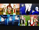 【MMDツイステ】寮服でライムライト【オクタヴィネル・ハーツラビュル・ポムフィオーレ】