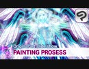 【Painting prosess/イラストメイキング】Metatron/slide show/スライドショー/CLIPSTUDIOPAINT/Originar illustlation
