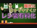 レジ袋有料化の解説を麻生太郎のものまねでやってみた!