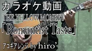 【ニコカラ】イエモン「Romantist Taste」【off vocal】【アコギアレンジ】