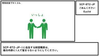【ゆっくり紹介】SCP-872-JP【ごめんください】