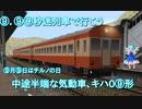 【⑨.⑨⑨秒迷列車で行こう】中途半端な気動車、キハ0⑨形