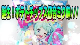 【HatsuneMiku】誕生!ポテトチップス初音ミク味///