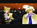 【MMD】ぷちネル、ぷち藍、黒猫さんで『嵐を呼ぶネコ☆』【らぶ式+α】