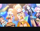 【SSR 1080p】 莉嘉・唯・瑞樹・加蓮・美嘉 × 無重力シャトル