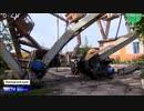 ロシア極東の沿海地方で突風が発生して大きな被害...演技派通訳