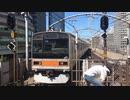 209系1000番台トタ81編成 東京駅1番線入線