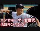 ハンカチ・マー君世代の投手勝利数&野手安打数ランキングの推移【2007-2020】【88年組】【プロ野球】