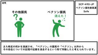 【ゆっくり紹介】SCP-490-JP【ベクソン国改善装置】