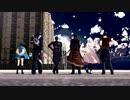 【MMD刀剣乱舞】エンヴィキャットウォーク  【東西槍と伊達組】