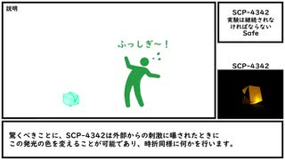 【ゆっくり紹介】SCP-4342【実験は継続されなければならない】