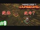 #9-2【姉妹実況】迫り狂う罠を避けろ!(後編)【Minecraft Dungeons(マインクラフトダンジョンズ)】