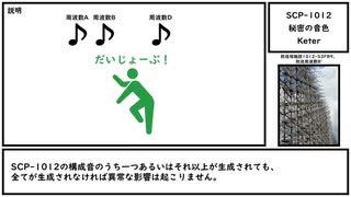 【ゆっくり紹介】SCP-1012【秘密の音色】