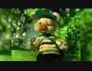 【☎️北朝鮮アニメ】(金正恩)豚児、ハチに刺される。。。