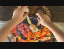 【コマ撮り手描き】カルシファーとベーコンエッグ再現してみた【ジブリ飯】