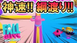 【実況】シーソーゲームの小技、柵を渡る!チーターに勝ちたいフォールガイズ【Fall GUYS】