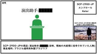 【ゆっくり紹介】SCP-2900-JP【エンドロール】