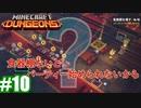 #10-2【姉妹実況】食器棚がないと始まらないパーティー(後編)【Minecraft Dungeons(マインクラフトダンジョンズ)】