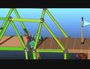 【実況】渡れたら、それは橋 Part24【Poly Bridge 2】