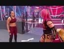 (WWE)アスカ&シェイナ・ベイズラーVSサシャ・バンクス&ベイリー 8/17 RAW