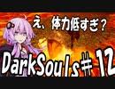 【DarkSoulリガバスター】初期体力で防具はつけない縛りで普通にプレイ#12【結月ゆかり】