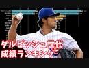 ダルビッシュ世代の投手勝利数&野手安打数ランキングの推移【2005-2020】【86年組】【プロ野球】