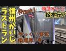 【鉄道旅1号①】中央線特急の異端児 信州かいじ号のラストランに乗ってきたPart1【鉄道旅ゆっくり実況】