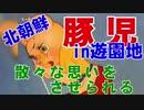 【☎北朝鮮のアニメスタッフめ!】遊園地でも楽しく遊ばせてくれない(金正恩)豚児【無慈悲】