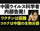 コロナ特集第1弾 【 中国ウイルス科学者が内部告発! 】 コロナは中国の生物兵器!秋には感染再爆発。ワクチンは中共、WHO、製薬メーカーの利権の巣窟!
