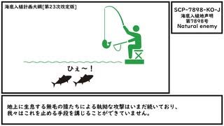 【ゆっくり紹介】SCP-7898-KO-J【海底入植地声明第7898号】