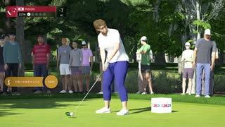 ゴルフPGAツアー 2A21 ビギナー女子プレイ