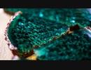 チョコミントタルト〜エメラルドマリンとサンゴ礁【お菓子作り】ASMR