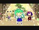 【東方MMD】ヘキガの呪文を早苗さんが踊ってみた【ペーパーマリオ_オリガミキング】
