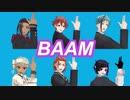 【MMDツイステ】BAAM【バスケ部と軽音部】