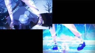 【東方MMD】Tears-Pf&Vo Arrange cover-【2窓同時再生】(エレクトリカ式チルノ)