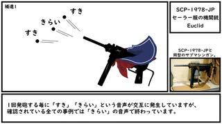 【ゆっくり紹介】SCP-1978-JP【セーラー服の機関銃】