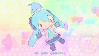 【MMD】take it easy(ふわミク)