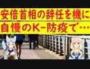 【韓国の反応】安倍首相の辞任を機に、K-防疫を餌に日本の輸出規制を解除させよう!【世界の〇〇にゅーす】