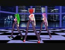 【MMD】Love_Me_If_You_Can【重音テト 櫻花アリス TAKASHI】