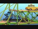【実況】渡れたら、それは橋 Part26【Poly Bridge 2】