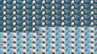 【フリージア耐久】町田ちまの100フリージアを重ねてみた【町田ちま/にじさんじ切り抜き】