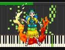 【東方ピアノ】偶像に世界を委ねて ~ Idoratrize World【東方鬼形獣】