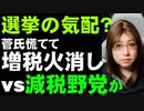 報道が煽るよ解散総選挙。菅氏は増税発言の火消しに追われ、野党は誰も注目しないが再編進む
