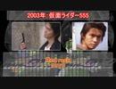 【草加雅人】仮面ライダーカイザ メドレー【2003年】