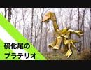 """【折り紙】「硫化尾のプラテリオ」 21枚【硫化】/【origami】 """"Sulfide tail platerio"""" 21 pieces【Sulfurization】"""