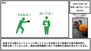 【ゆっくり紹介】SCP-369-JP【怪奇!宙に浮くミカン】