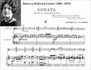 R.Clarke - Sonata for viola (or cello) and piano: 2nd mvt. Vivace