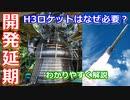 【ゆっくり解説】衝撃?開発延期 なぜH3ロケットを開発しないといけないの?前編