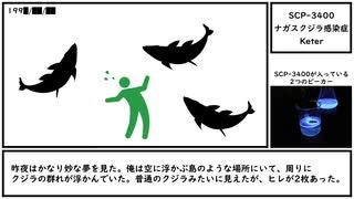 【ゆっくり紹介】SCP-3400【ナガスクジラ感染症】
